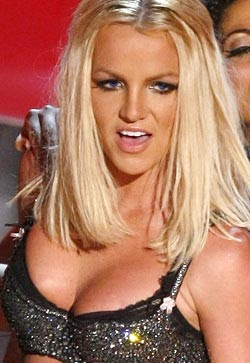 Britney Spears doesn't like to wear underwear