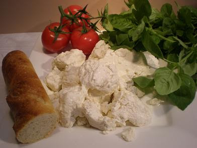 how to make mozzarella cheese from curd
