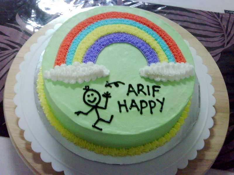 MySugarArt blog Happy cake for a happy person