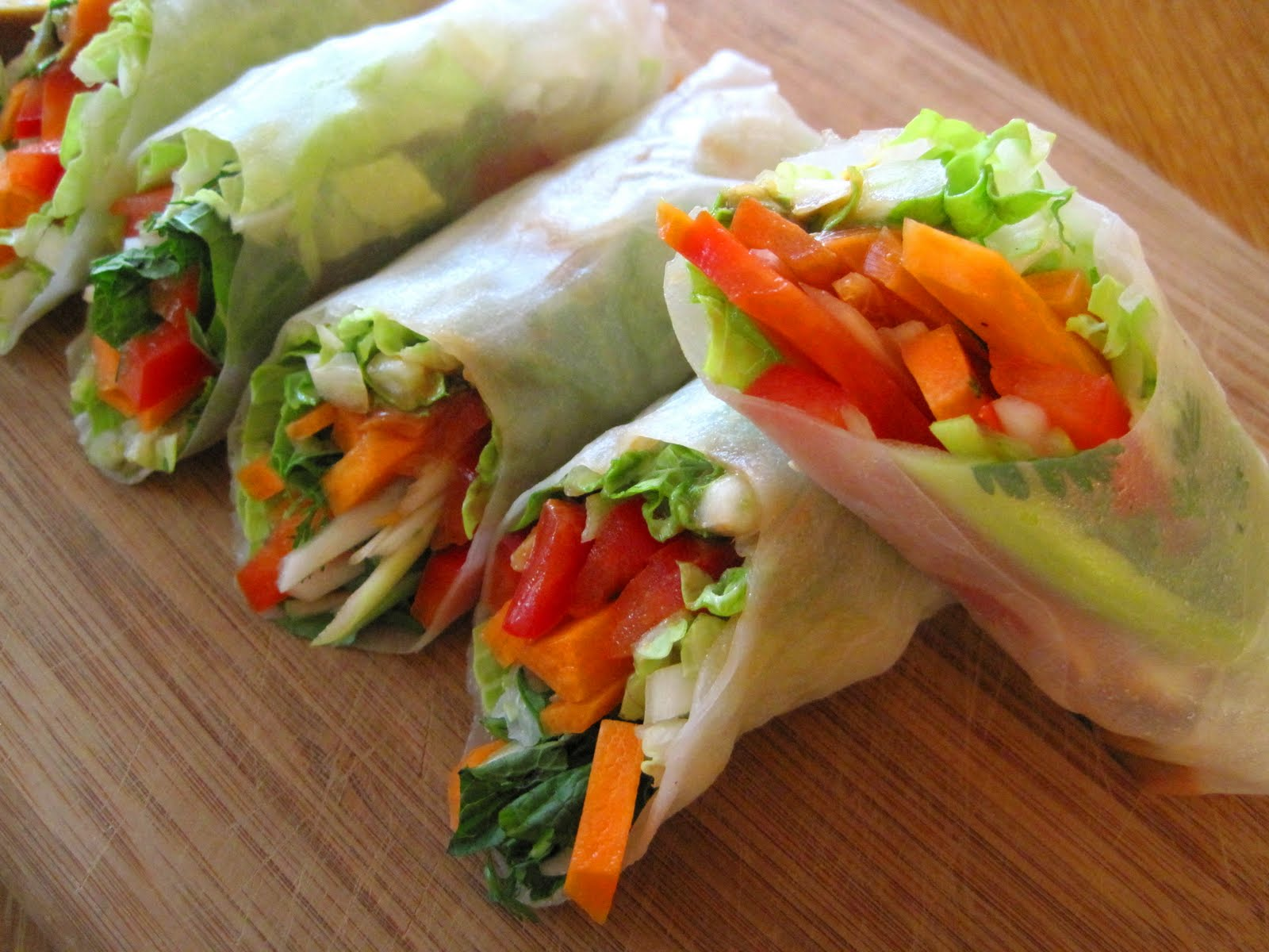 how to make big spring rolls