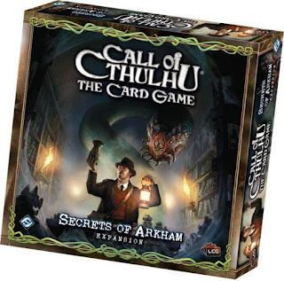Confezione dell'espansione Secrets of Arkham