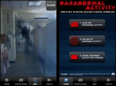 Paranormal Activity Locator