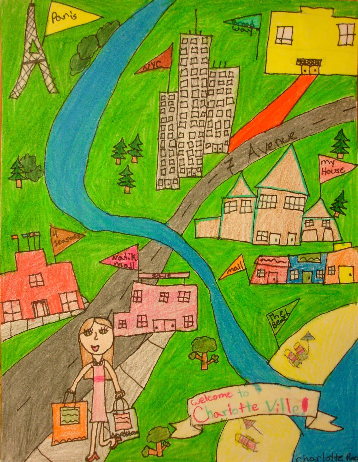 how to make a neighborhood map