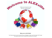 A Screenshot of the Alexville portion of the Alabama Learning Exchange website