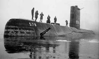 USS Skate, North Pole, March 1959: Proof that George Monbiot is a clueless twat?