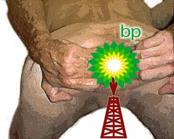 BP Logo Goatse re-Design By hubris