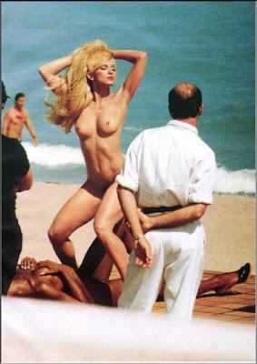 madonna nude at beach