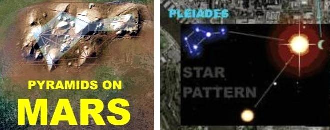 Resultado de imagen para pleiades mars pyramids