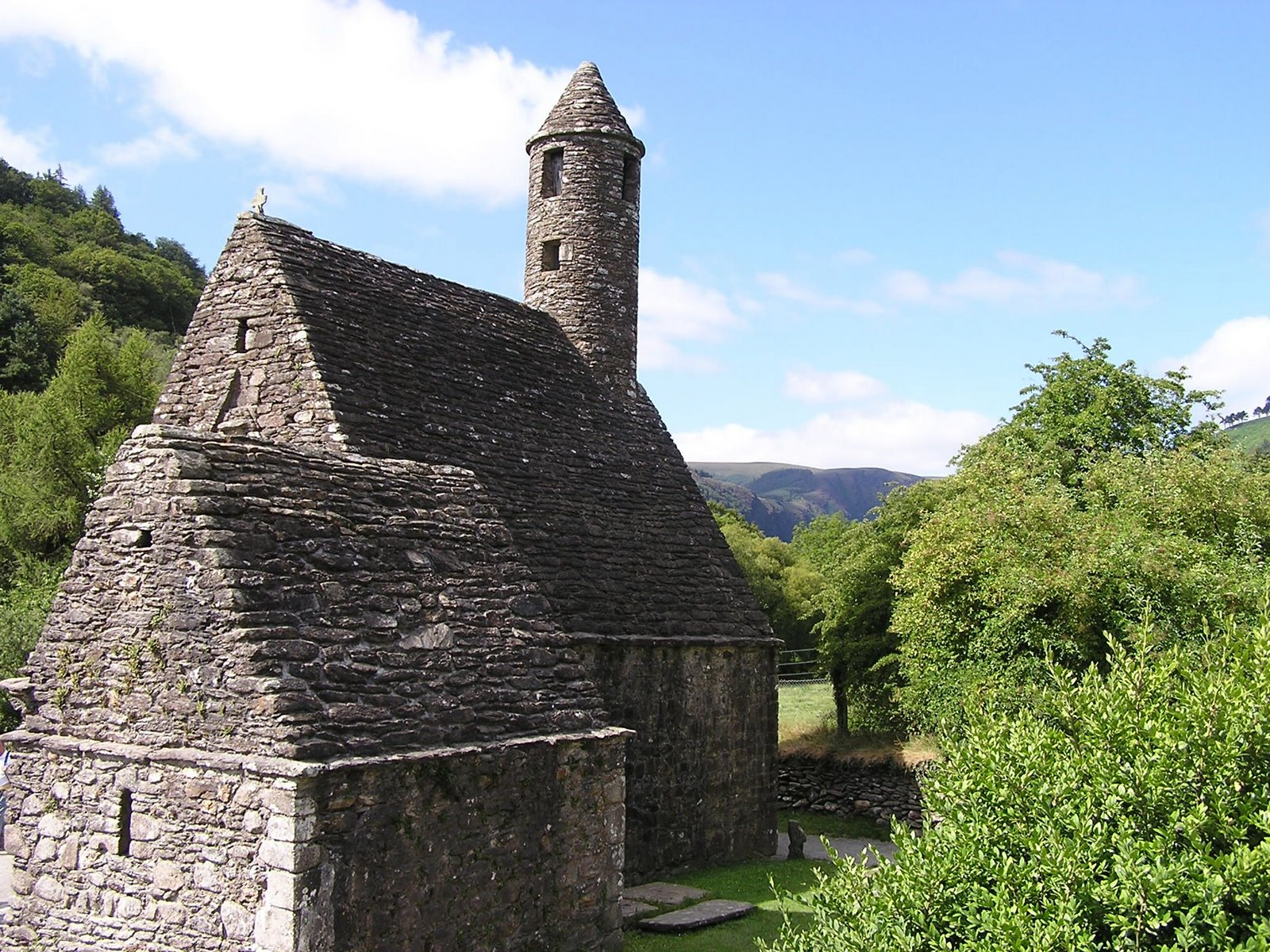 st kevin's church, glendalough