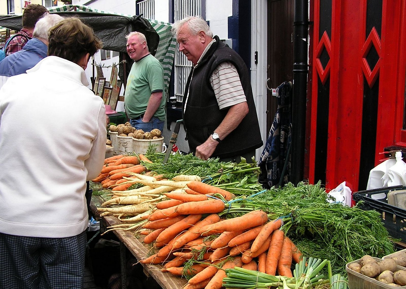 fresh produce, galway market, Ireland