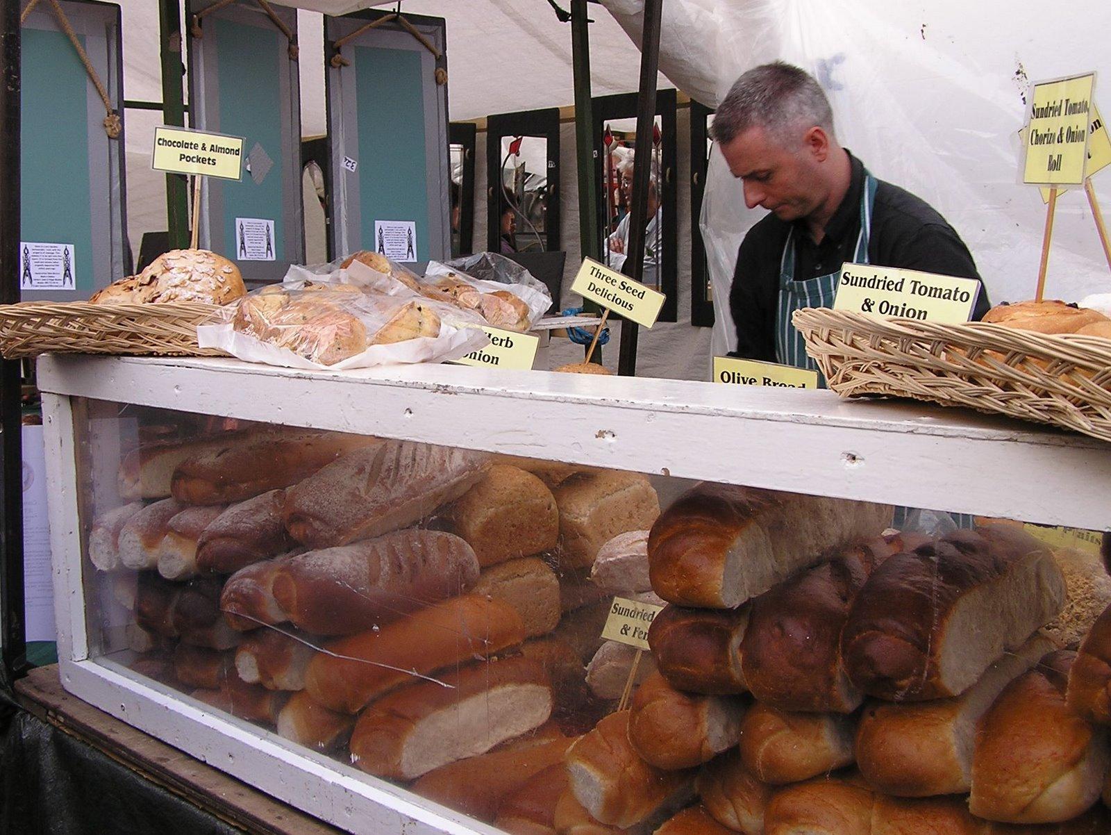 fresh bread, galway market