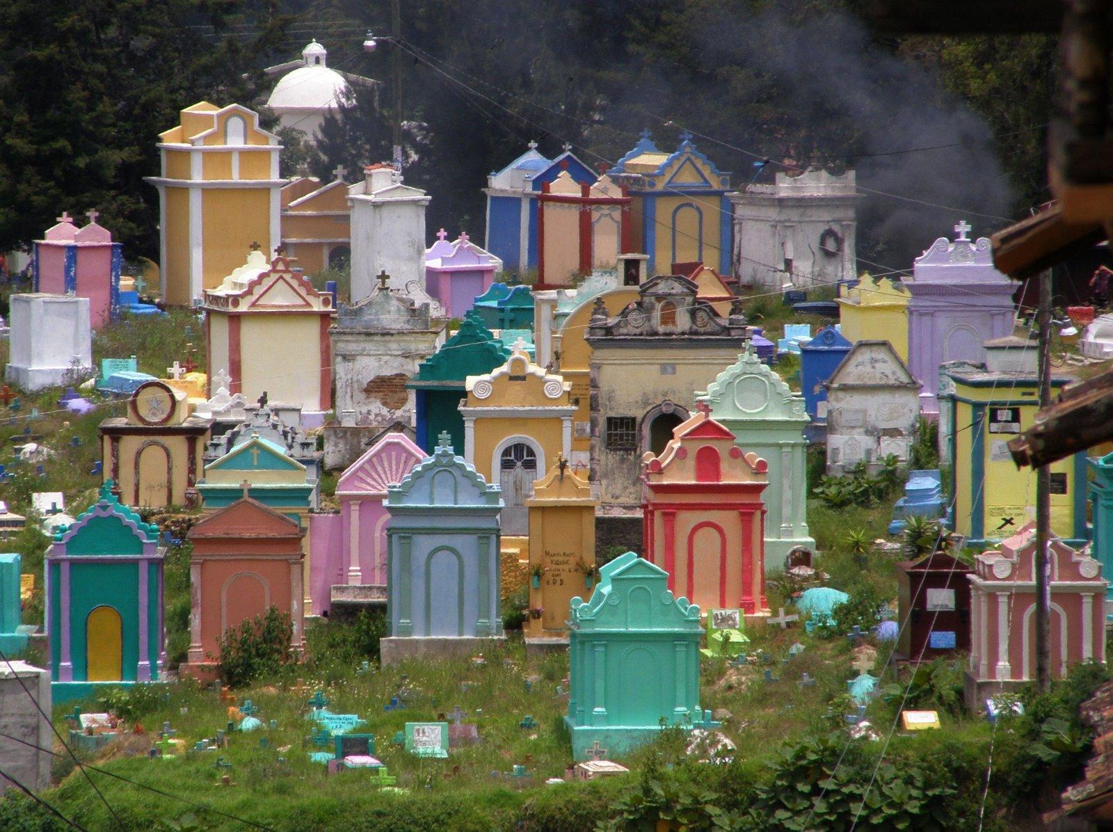 cemeteray, chichicastenango, guatemala