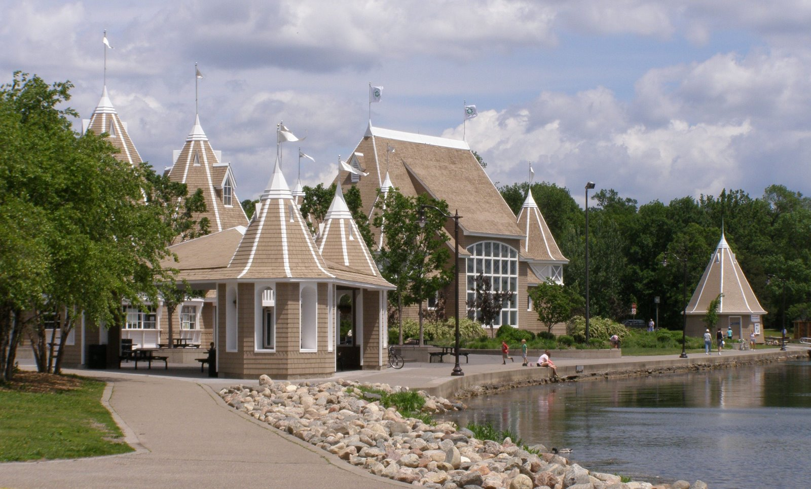 lake harriet bandshell and refectory