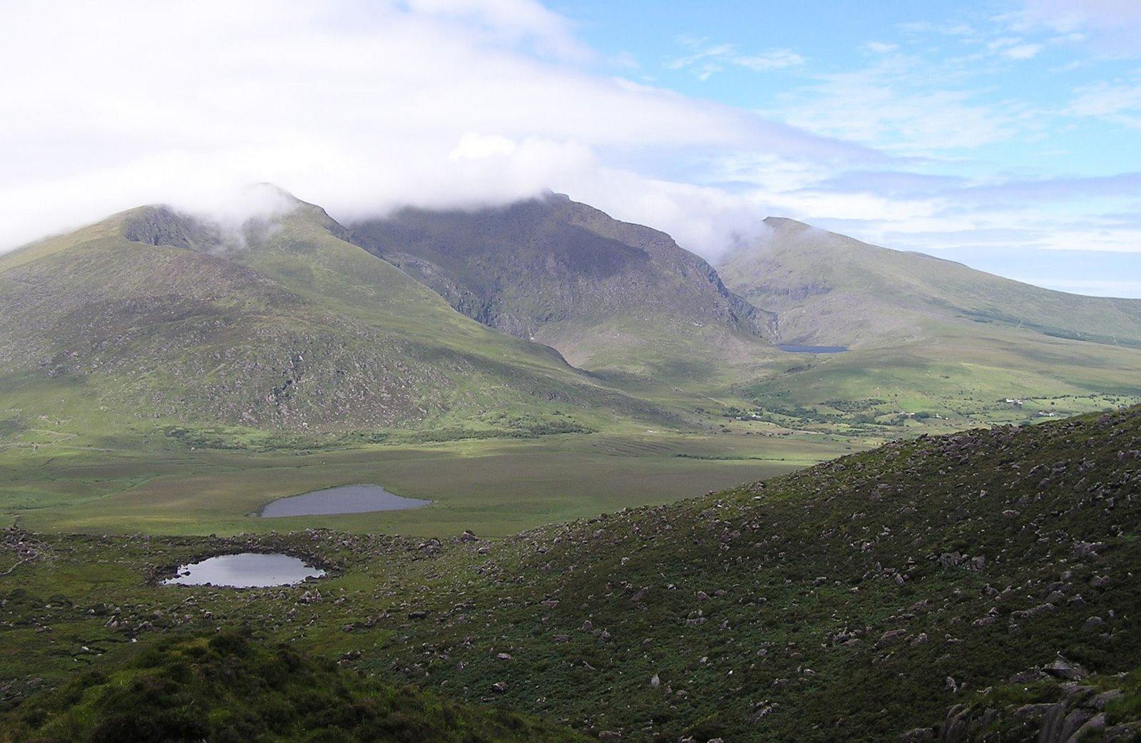 connor pass, dingle, ireland