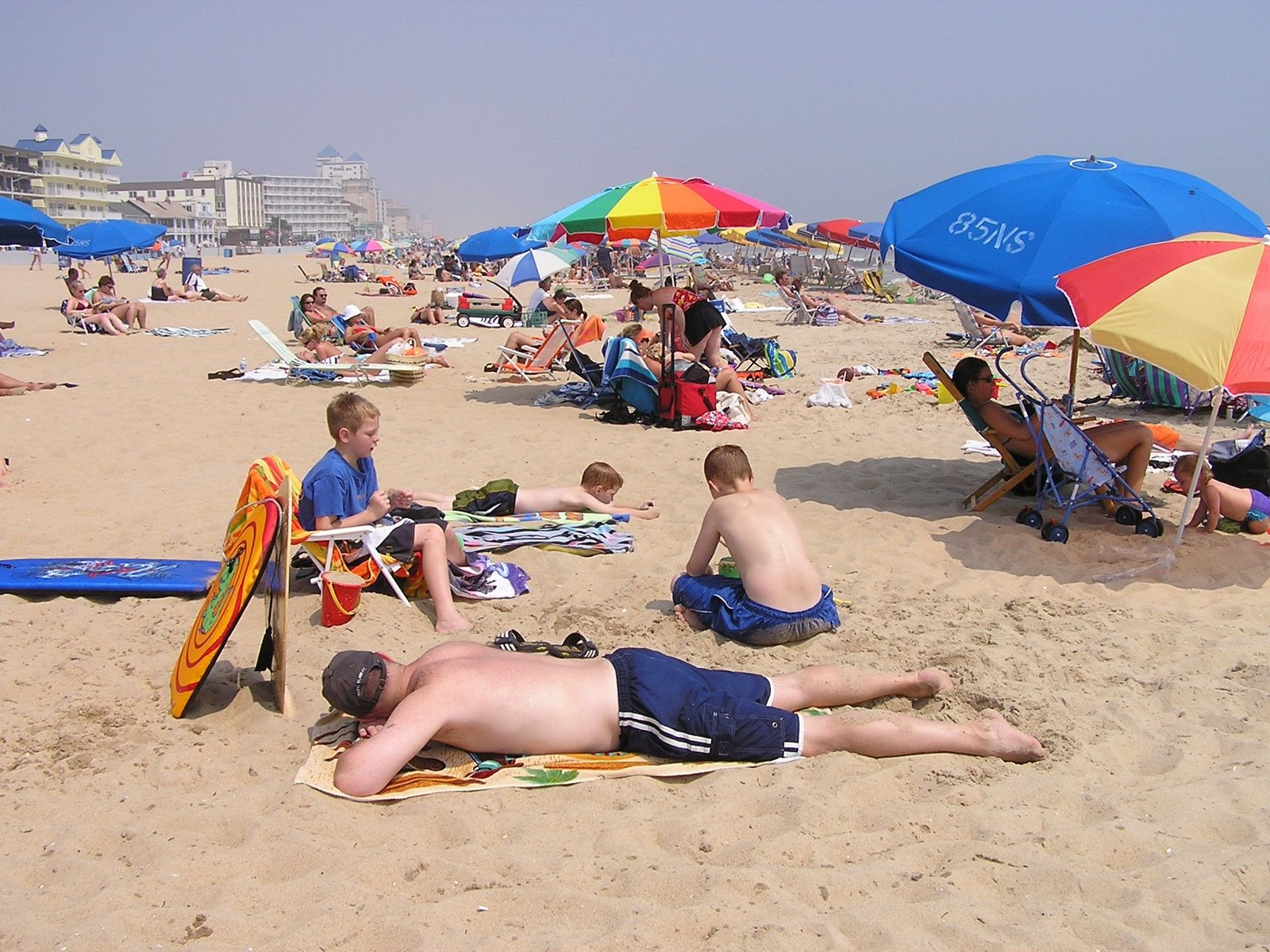 ocean city, maryland, beach