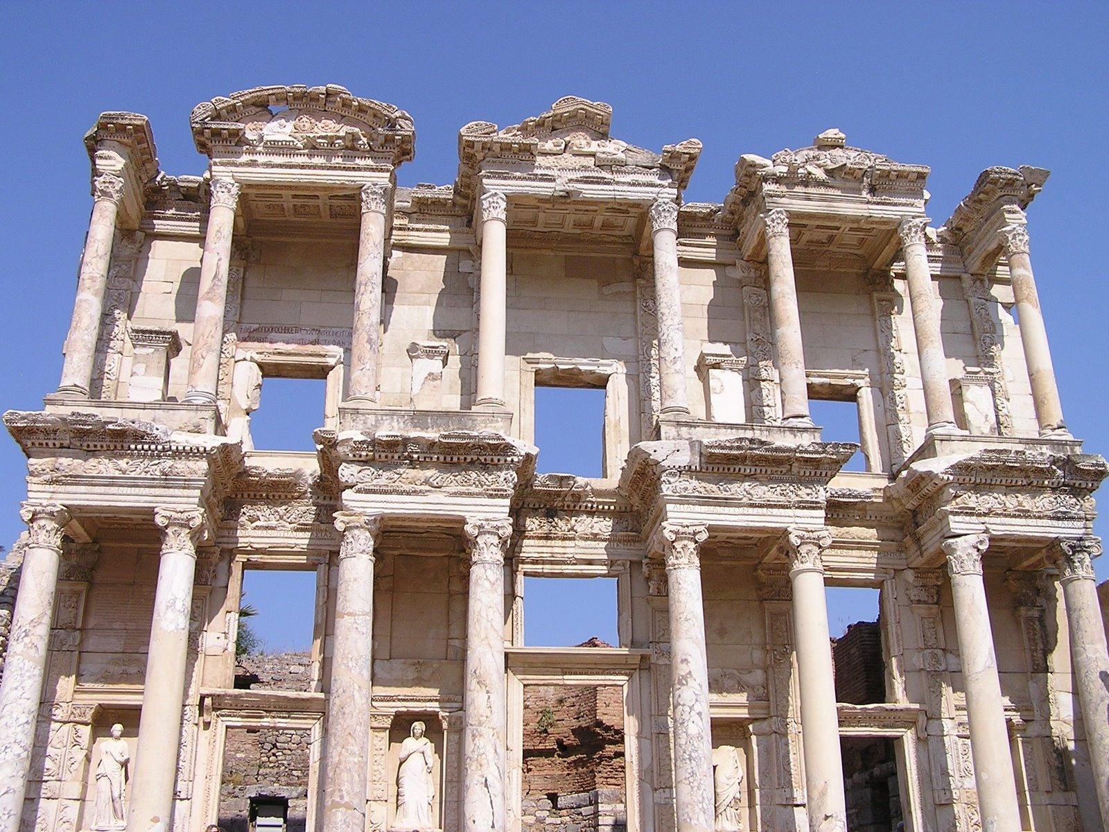 library of celsus, ephesus, turkey