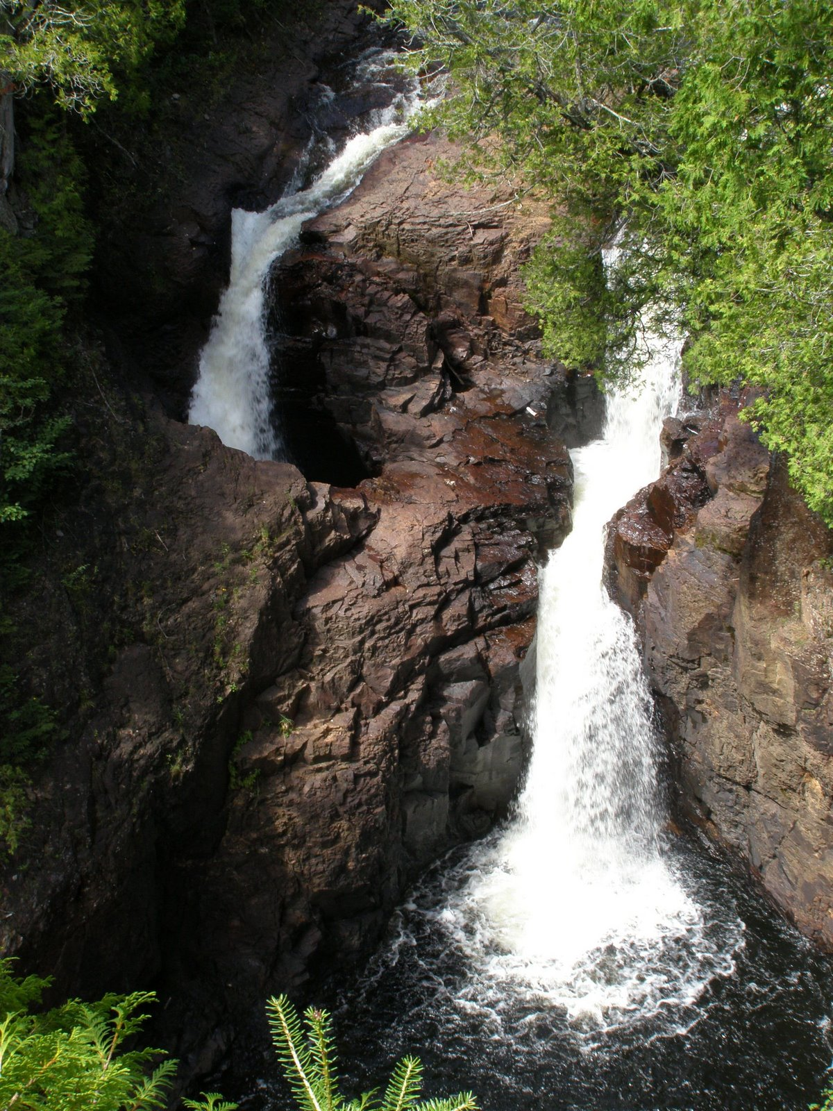 devil's kettle, judge c.r. magney state park