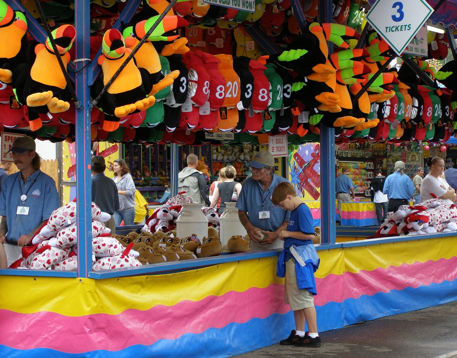 midway game, Minnesota State Fair