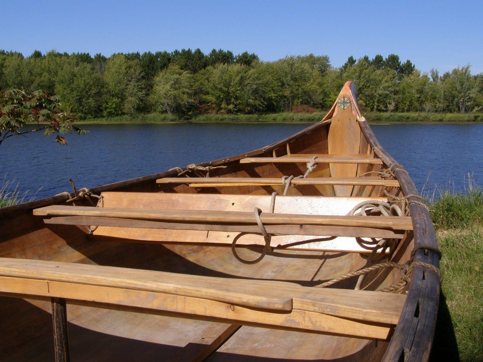 voyageur canoe, snake river, minnesota