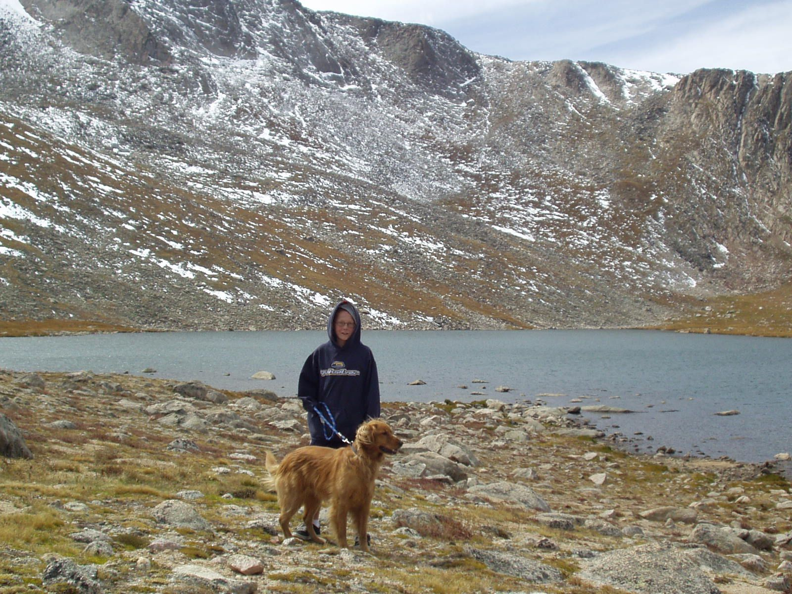 summit lake, mount evans drive