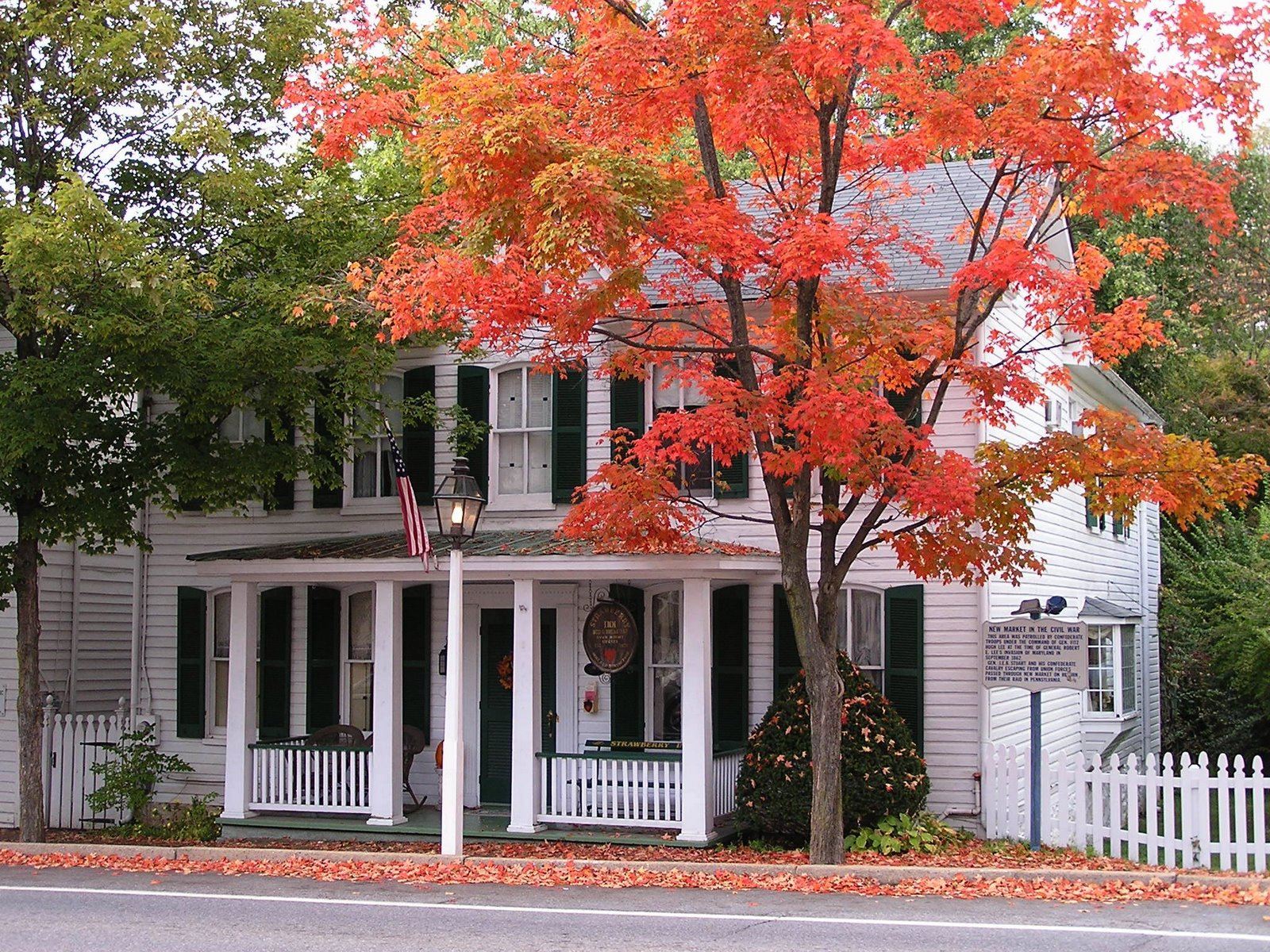 autumn in New Market, Maryland