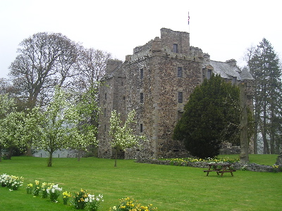 elcho castle, scotland