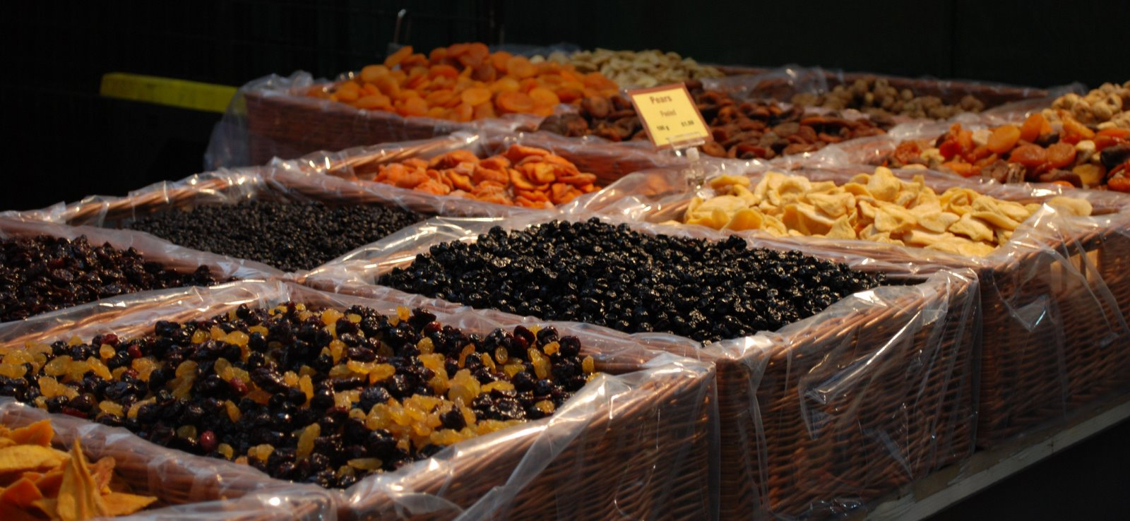 borough market, dried fruit