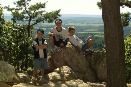 boys, sugar loaf mountain, maryland