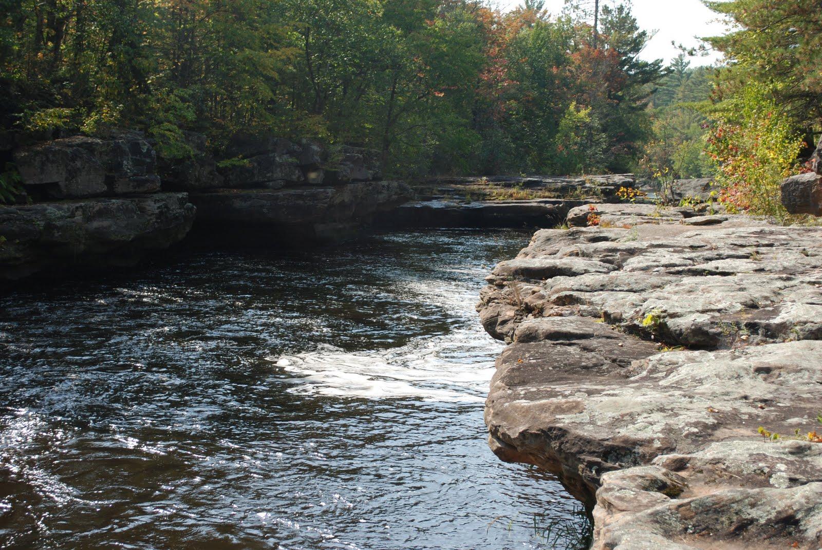 kettle river, banning state park, minnesota