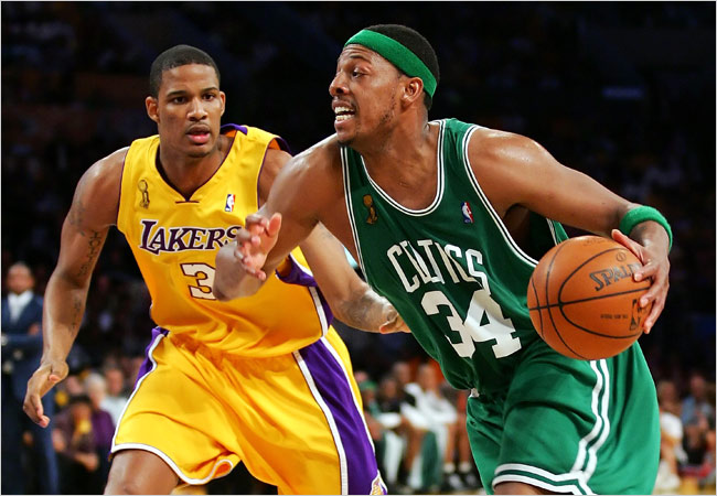 17 Tracks Online: Celtics vs. Lakers: A History