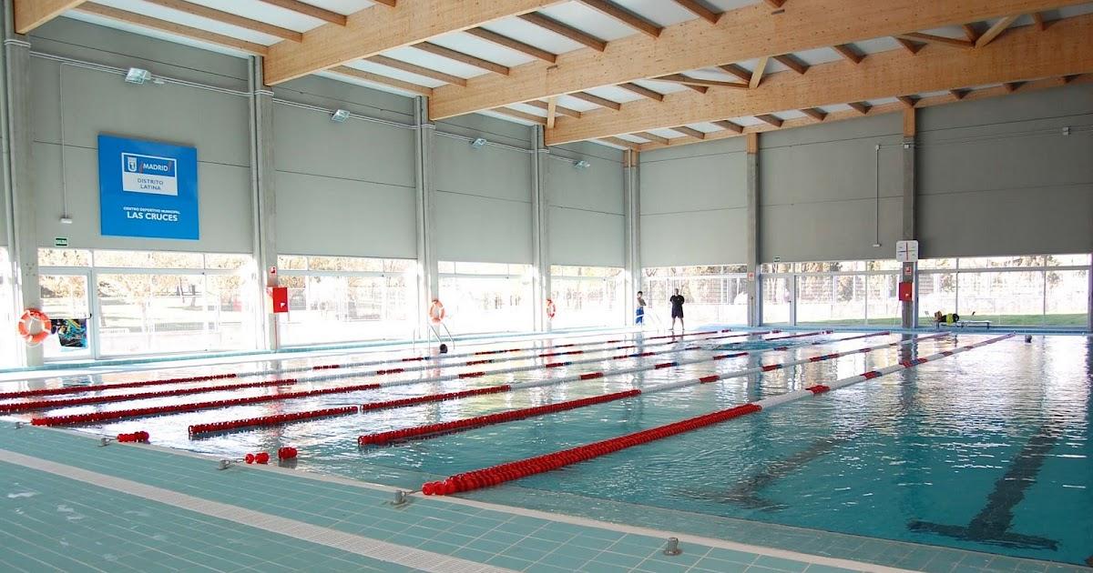 Inaugurado el centro deportivo las cruces gu a de aluche for Piscina municipal aluche