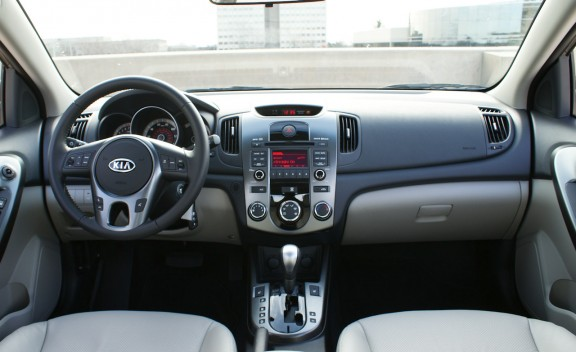 2010 Kia Forte EX Interior View