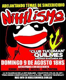 Nihilismo 9 de Agosto en Quilmes