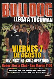 Bulldog 7 de Agosto en Tucuman
