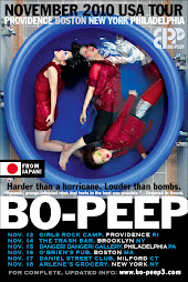 BO-PEEP: November 2010 USA Tour