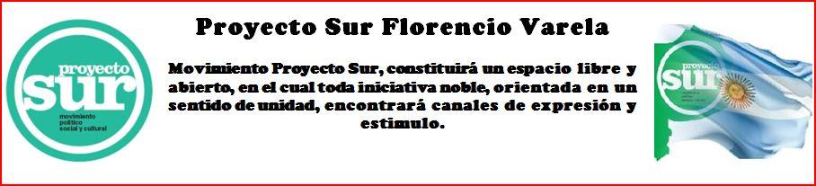 Proyecto Sur Florencio Varela
