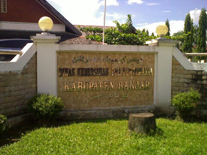 website Dinas Kebersihan dan Pertamanan Kab.Banjar