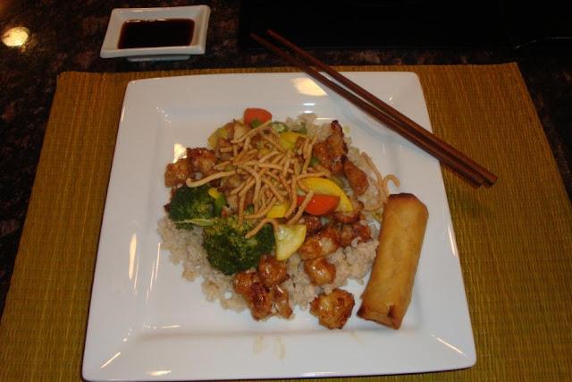 Teriyaki Chicken Brown Rice & Veggies