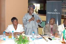 Amb. Segun Olusola OFR, Acting Consul General Anselme Fanou, Madame Rose Awadi