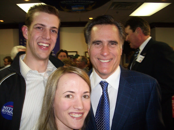 Meeting Mitt Romney!