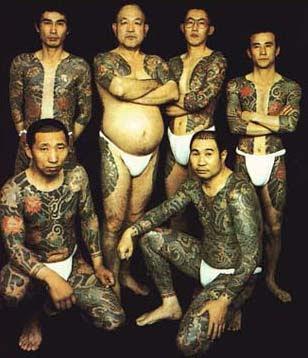 tattoo mafia yakuza jepang