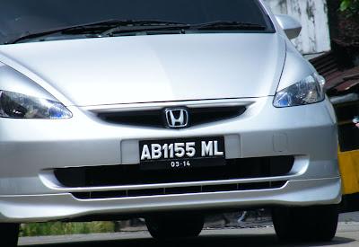kode plat nomor motor dan mobil lengkap