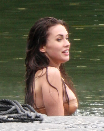 megan fox fake
