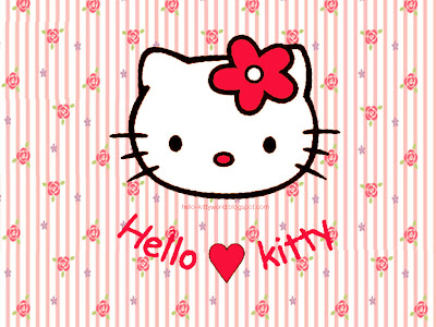 Hello Kitty Red Wallpaper