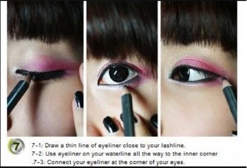Ulzzang Pony Makeup Tutorial No.2 Pink Sparkle