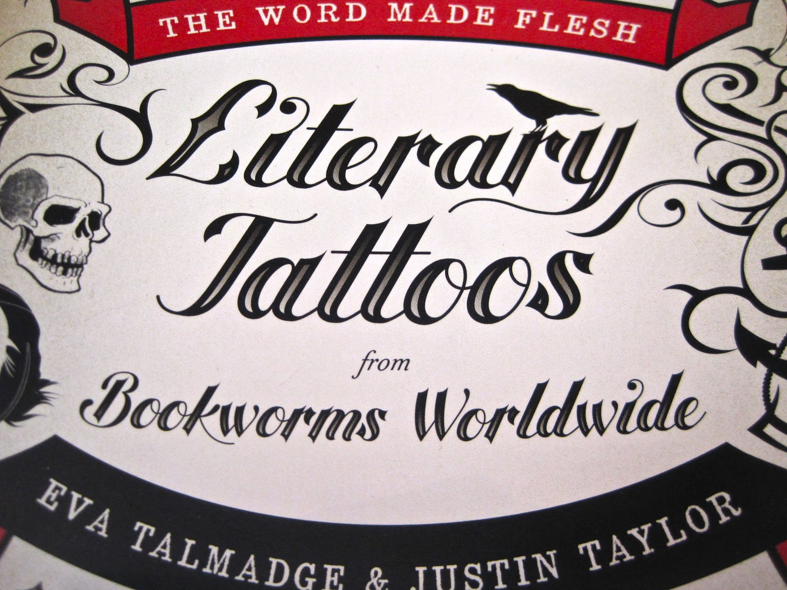literary tattoos caught my