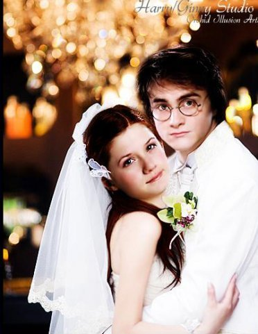 Harry and Ginny Married!!