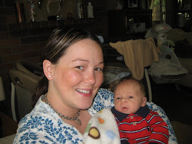 Mommy and her little man