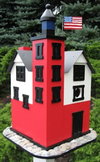 Round Island Lighthouse Bird House