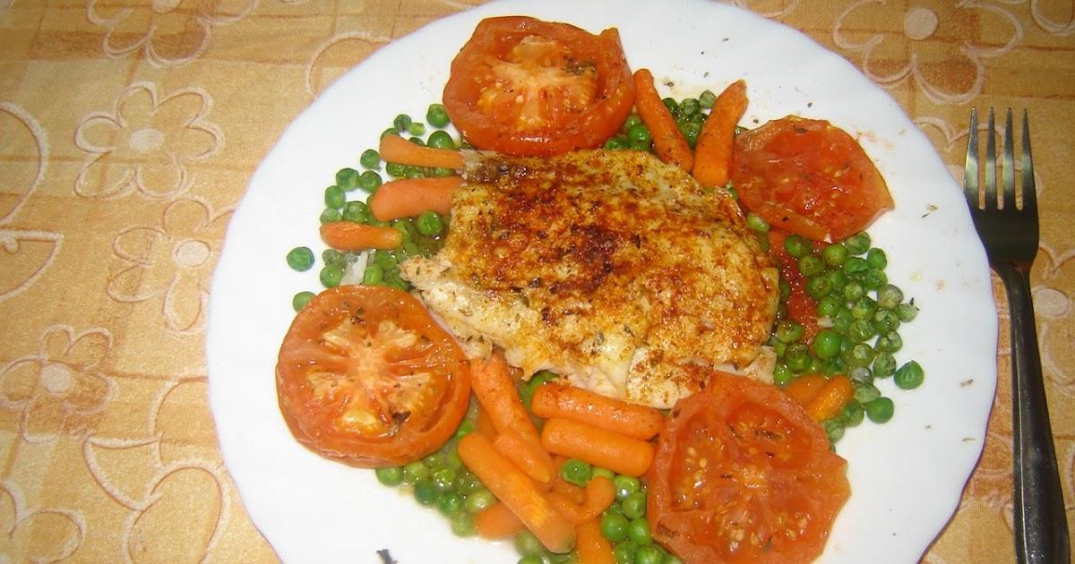 Entre pucheros y sartenes pescado con verduras al microondas - Cocinar pescado en microondas ...